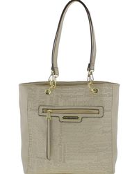 Juicy Couture - Womens Word Play Faux Leather Logo Tote Handbag - Lyst