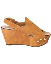 349c9b7f49c Chloé - Ch28180e01 Women s Sandals In Multicolour - Lyst