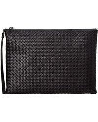 Bottega Veneta - Intrecciato Nappa Leather Document Holder - Lyst