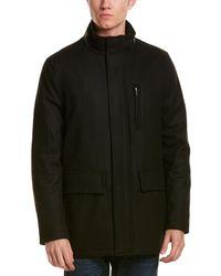 Cole Haan - Milton Wool-blend Coat - Lyst