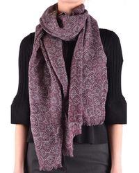 Altea | Women's Purple Wool Scarf | Lyst