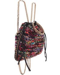 Balmain - Women's Multicolor Fabric Backpack - Lyst