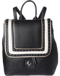 Catherine Malandrino - Womens Willa Faux Leather Studded Backpack - Lyst