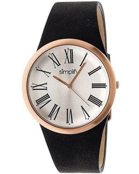 Simplify - The 2000 Leather-band Watch - Lyst