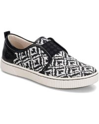 b.ø.c. - Womens Callisto Leather Low Top Slip On Fashion Trainers - Lyst