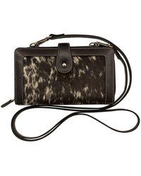 ILI - Leather Pony Crossbody Smartphone Case - Lyst