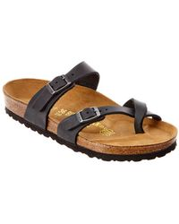 Birkenstock - Mayari Oiled Leather Sandal - Lyst