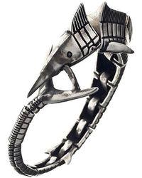 Ametallo - Storione Stainless Steel Bracelet - Lyst