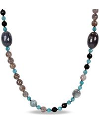 Catherine Malandrino | Onyx Bead Necklace | Lyst