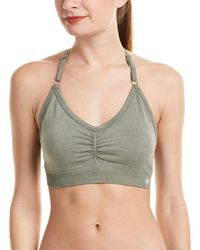 Splendid - Distressed Seamless Bra - Lyst