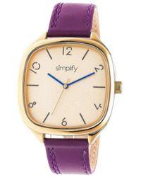 Simplify - Men's The 3500 Quartz Watch - Lyst