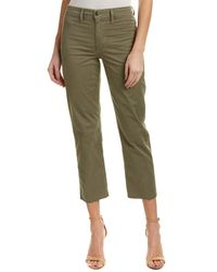Joe's Jeans - Jane Olive High-rise Straight Crop - Lyst