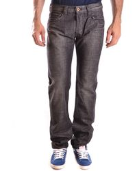 Evisu - Men's Black Cotton Jeans - Lyst