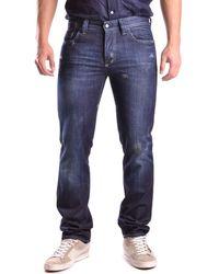 Dekker - Men's Blue Cotton Jeans - Lyst