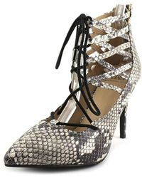Material Girl - Womens Pronto Pointed Toe Ankle Strap Classic Pumps - Lyst