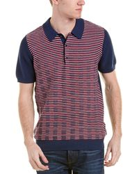 Ben Sherman | Mixed Stripe Polo | Lyst