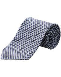 Ferragamo - Blue Jumping Rabbits Silk Tie - Lyst