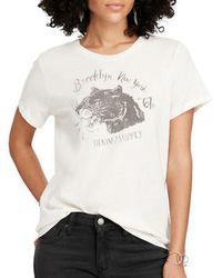 Denim & Supply Ralph Lauren - Jersey Graphic Print T-shirt - Lyst
