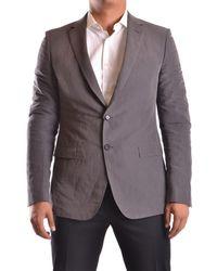 CoSTUME NATIONAL - Men's Mcbi074059o Grey Cotton Blazer - Lyst
