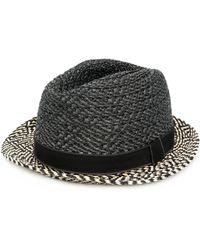 Paul Smith - Men's Grey Viscose Hat - Lyst