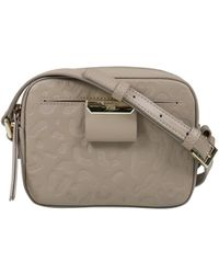 Class Roberto Cavalli - Taupe Small Shoulder Bag Sofia 002 - Lyst