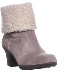 Anne Klein - Heward Cuffed Ankle Winter Boots, Taupe/taupe - Lyst