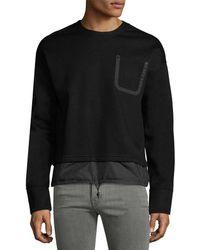 Diesel Black Gold - Siros Solid Sweatshirt - Lyst