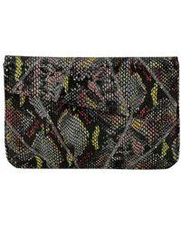 Inge Christopher - Charlene Asymmetrical Leather Envelope Clutch - Lyst
