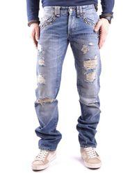 John Galliano - Men's Mcbi130084o Blue Cotton Jeans - Lyst