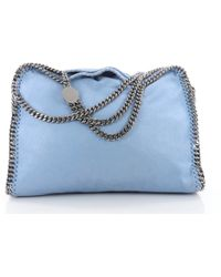 9710fc236f27 Lyst - Stella Mccartney Shaggy Deer Falabella Tote Violet in Purple