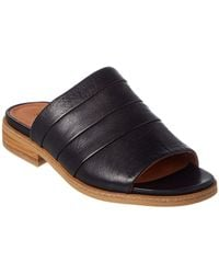 Gentle Souls - Gayle Leather Slide Sandal - Lyst