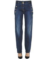 Patrizia Pepe - Women's Blue Cotton Jeans - Lyst