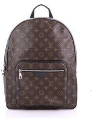 Louis Vuitton - Pre Owned Josh Backpack Macassar Monogram Canvas - Lyst