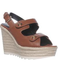 COACH - Electra Slingback Espadrille Sandals - Lyst
