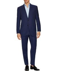 Lanvin - Wool Notch Lapel Suit - Lyst