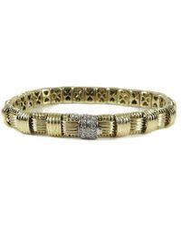 Roberto Coin - 18k Yellow Gold Diamond Appassionata Bracelet - Lyst