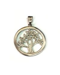 Jewelry Affairs - Sterling Silver Rhodium Plated Tree Of Life Pendant - Lyst