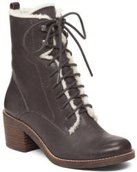 Lucky Brand - Cambreen Leather Boot - Lyst