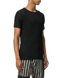 Tom Rebl - Men's Tu0610371190 Black Viscose T-shirt - Lyst