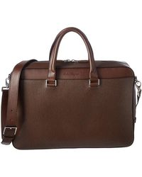 Ferragamo - Revival Leather Briefcase - Lyst