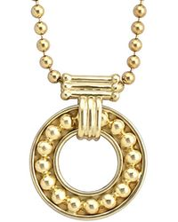 Lagos - Covet 18k Necklace - Lyst