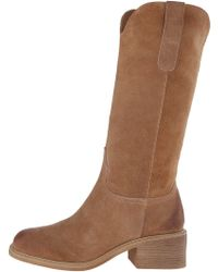 203cb5fa929 Mojo Moxy - Womens Prairie Suede Square Toe Knee High Fashion Boots - Lyst