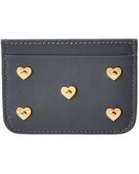 Sophie Hulme - Hearts Rosebery Leather Cardholder - Lyst