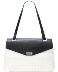 Mofe - City Girl Quilted Lambskin Briefcase-style Top Handle Shoulder Bag With Secure Flip-lock Closure - Lyst