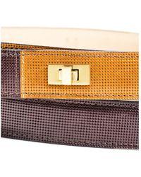 Lela Rose - Nwt Brown Camel Gold Tone Hardware Double Wrap Belt Sz M - Lyst
