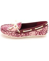 Cole Haan - Caram Closed Toe Boat Shoes /flowers - Lyst
