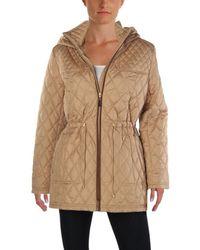 Ellen Tracy - Womens Petites Winter Hooded Basic Coat - Lyst
