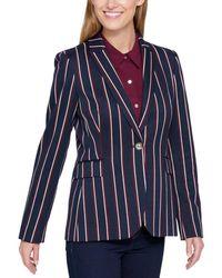 Tommy Hilfiger - Womens Work Wear Business One-button Blazer - Lyst