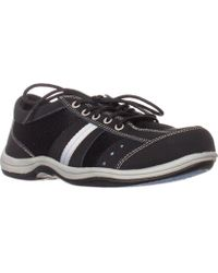 Easy Street - Emma Walking Sneakers, Black - Lyst