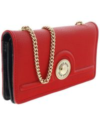 Versace Jeans - Ee3vrbpl2 Red Wallet On Chain - Lyst